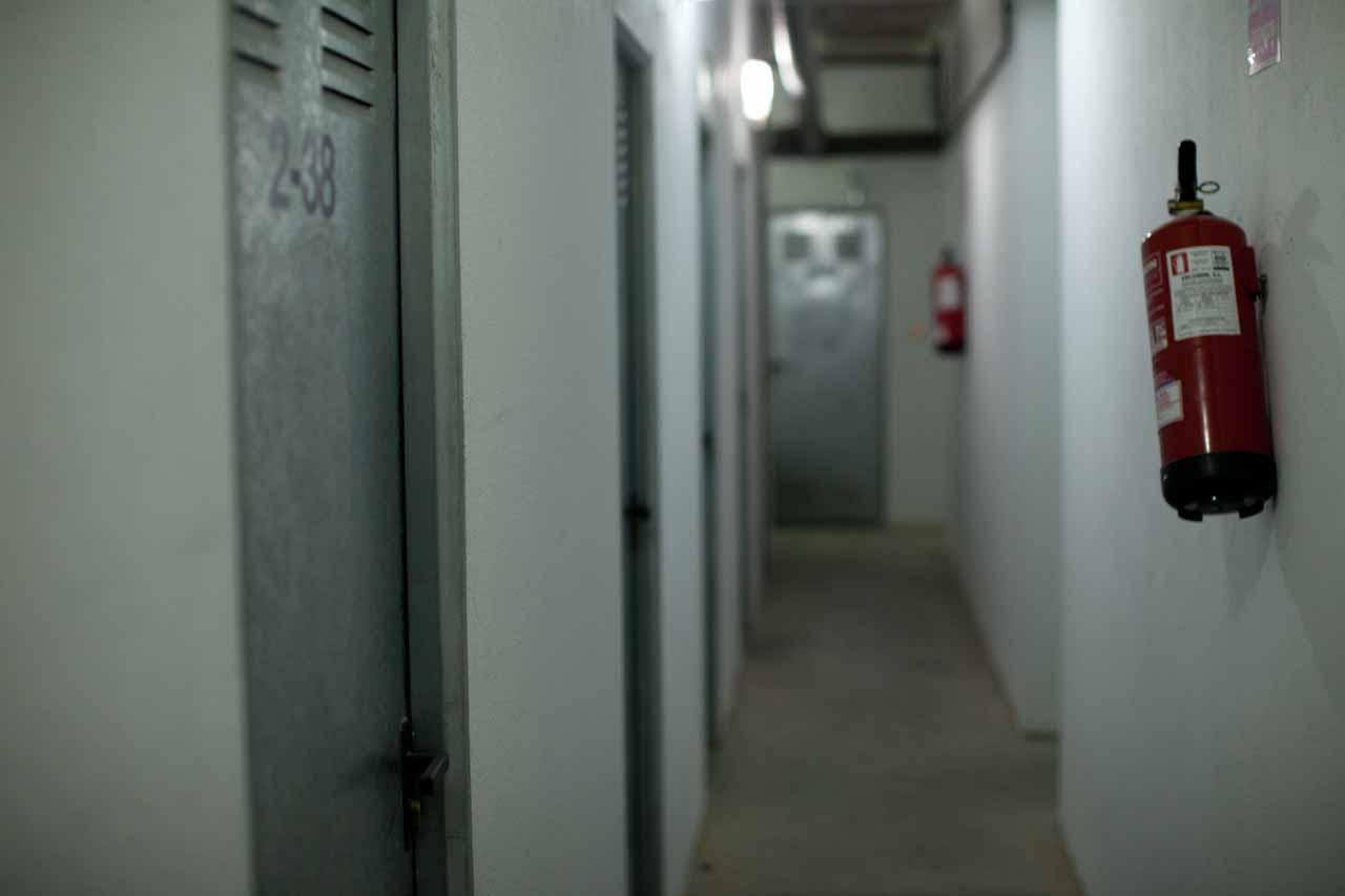 Puertas de trastero Madrid. Seguridad